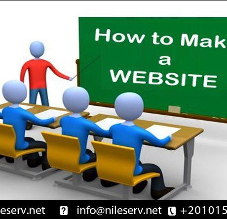 تعلم كيفيه انشاء موقع الكتروني